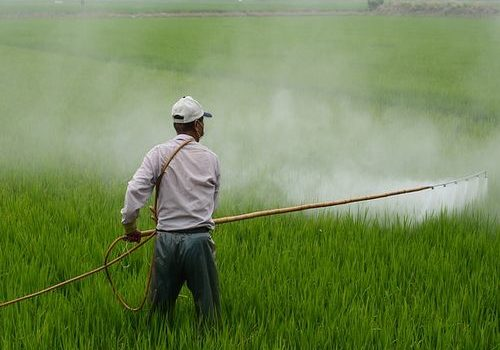 prskanje pesticidi